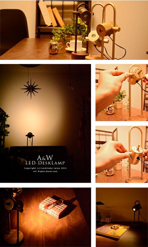 japanbridge  Rakuten Global Market: LED 데스크 라이트 알루미늄&우드 ...