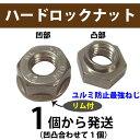 ハードロックナットリムM5三価ホワイト[1組]