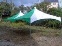 ロイヤルテント 2間×4間 緑
