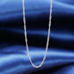 ギフト 特別奉仕商品純プラチナネックレス(スクリュー) 価値ある純プラチナを使った価値あるネックレス光を受けきらめきくドレッシーなスクリューザインです