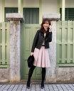 ●送料無料●神戸・山の手スカート ミドル丈B