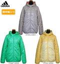 【在庫一掃】【旧モデル】adidas(アディダス)女性用(レディース)SC+ ライトパテッドジャケット(薄中綿ジャケット)防寒 アウター …