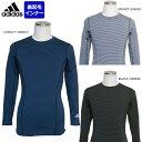 【在庫一掃】adidas(アディダス)男性用(メンズ)M CLX 起毛長袖Tシャツ JBA94【メール便指定可能】◇