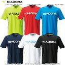 DIADORA:ディアドラ【2016年継続モデル】ロゴプリントがポイントのトレーニングシャツ