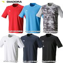 【あす楽対応】【新作10%OFF】DIADORA(ディアドラ) TENNIS(テニスウェア) 男性用(メンズ) プラクティスシャツ(半袖)TシャツDAP7538【17SS】【メール便指定可能】◇