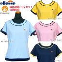 ellesse(エレッセ) TENNIS(テニスウェア) 女性用(レディース) ゲームシャツ 半袖 吸水速乾 UVカット 抗菌防臭 …