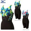 MIZUNO:ミズノ【2015年春夏モデル】肩甲骨が動きやすいデザイン泳ぎやすさを追求したフィットネス水着