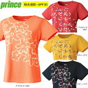 【30%OFF】prince プリンス レディース ゲームシャツ 花柄 WL6053【16SS】【メール便指定可能】【tenpo】◇