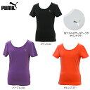 【Tシャツ均一セール】【在庫一掃】PUMA(プーマ)女性用(レディース)フィットネス トレ