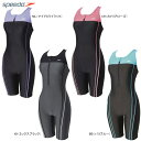 speedo(スピード)スイムウェア ウイメンズスパッツスーツ(オールインワン) Active Standard女性用(レディース) フィットネス用水着…