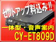 ◆セットアップ込◆パナソニックPANASONIC CY-ET809D(一体型・黒色)