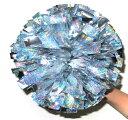 キッズポンポン 銀2色 20cm指