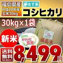 【平成28年】福島県産 キラッと玄米 コシヒカリ 30kg 【送料無料】【あす楽_土曜営業】【調整済玄米】