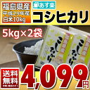 コシヒカリ 5kg×2袋 白米 10kg 福島県 29年産 ...