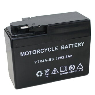 ☆New ☆ battery YTR4A-BS (CT4A-5 FTR4A compatible) which has been charged