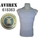 AVIREX(アヴィレックス) 【定番】 メンズ 無地 デイリー リブタンクトップ 6143503 ホワイト 白 アビレックス 618363
