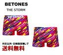 BETONES(ビトーンズ) THE STORM ストーム 嵐 ボクサーパンツ ピンク フリーサイズ S〜L 【パンツ ブリーフ トランクス アンダーウェア 下着】 【楽ギフ_包装】 はきやすい 伸びる ファッション おしゃれ お洒落 TST001