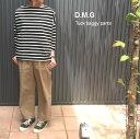 ≡裾直し 送料無料≡D.M.G(ディーエムジー/ドミンゴ/DMG/Ladies/レディース) コットンタックバギーパンツ【13-870T】 2016新作