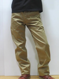 Point 02P04oct13 of ダルチザン jeans 1349 KH squinting straight Nortec Chino one wash khaki artisan workshop MADE IN JAPAN (made in Japan)