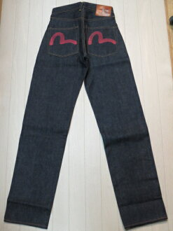 Pepsi EGD20012XKR カモメレッド paint No2 No2001 loose straight EVISU, evisu, Evisu 05P10Apr 12-point 05P04Aug13