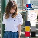 【Champion チャンピオン】 ワンポイント ロゴ 刺繍 ベーシック Tシャツ C3-H359/メンズ/レディース/ユニセックス…