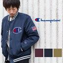 【Champion チャンピオン】アクションスタイル BIG Cロゴ ベースボールジャケット C3-J616/スタジャン/ブルゾン/ビッグロゴ/CHAMPION/メンズ/ジャンパー