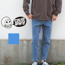 【CHEAP MONDAY チープマンデー 】レッグジーンズ メンズ ボトムス デニム 0570055-U /ルーズフィット/テーパード/ジーンズ/ジーパン/チープマンデー/ユーズド加工/ボトムス/パンツ