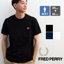 【SALE!!】【 FRED PERRY フレッドペリー 】 POCKET DETAIL PIQUE SHIRT ポケット ディテール ピケシャツ M8531 / fred perry ピケ フレッドペリー tシャツ メンズ 半袖 クルーネック tシャツ ロゴ 刺繍 春夏 tシャツ 父の日 ギフト 20SS