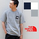 【THE NORTH FACE ザノースフェイス】S/S SMALL SQUARE LOGO TEE スモール スクエア