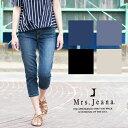 【Mrs.Jeana ミセスジーナ】 クロップド丈 サブリナパンツ MJ4126/レディース/パンツ...