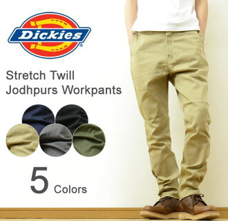Dickies ( Dickies ) Smart Jodhpurs Workpants Lowrise pants スマートジョッパーズワーク Chino NEW STANDARD (new standard)