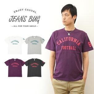 オリジナルアメカジプリント Tシャツ カリフォルニア フットボール