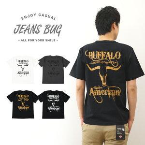 オリジナルバッファロー アメカジプリント Tシャツ インディアン