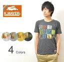 ショッピングクリフメイヤー KRIFF MAYER(クリフメイヤー) 『LOGOS』 サンスタンダード 半袖 Tシャツ ロゴデザイン カットソー サーフボード サーフィン マリンスポーツ 【1313419】