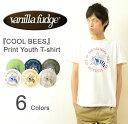 VANILLA FUDGE(ヴァニラファッジ) 『COOL BEES』 プリント ユースTシャツ メンズ 半袖Tシャツ レディ−ス ユースサイズ ユニセックス ...