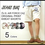(TB运动衫内裤)『U.S. AIR FORCE CA』JEANSBUG ORIGINAL PRINT 运动衫 短裤原创你esueafosumiritari[(TBスウェットショーツ)『U.S. AIR FORCE CA』 JEANSBUG ORIGINAL PRINT スウェット ショートパンツ オリジナ