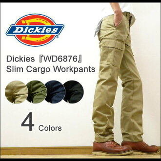 Chino cargo pants, work pants, スマートスリムカーゴ low rise Lowrise Smart Slim Cargo Workpants Dickies ( Dickies )