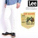 Lee リー AMERICAN RIDERS 203 レギュラーテーパード ストレッチ ホワイトジーンズ LM5203-618