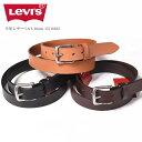 リーバイス Levi's ベルト 牛革 レザーベルト 30mm 15116602