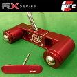 【ゴルフ】【パター】CURE PUTTERS (キュアパター) RX6 ストレートシャフトタイプ [レッド] (USA直輸入品)