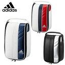 【ゴルフ】【シューズケース】adidas アディダス メンズ シューズケース3 AWS19