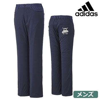 【ゴルフウエア】【パンツ】adidas アディダス 2016秋冬 メンズ JP SP スタッフドパンツ CCI60 ネイビー A04961