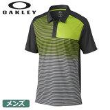【ゴルフ】【ポロシャツ】OAKLEY オークリー メンズ 半袖ポロ CARSON GOLF POLO 433286-00N USA直輸入品
