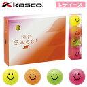 【ゴルフ】【ボール】Kasco キャスコ KIRA SWEET キラ スウィート レディース ボール 1ダース 日本正規品