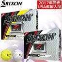 【USA直輸入モデル】【ゴルフ】【ボール】スリクソン SRIXON 2017 Z-STAR XV5 ボール