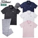 【ゴルフ】【ポロシャツ】Titleist タイトリスト メン...