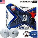 (特別デザイン)ブリヂストンゴルフ TOUR B XS ゴルフボール 2020 TIGER仕様モデル 1ダース USA直輸入品