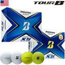 ブリヂストンゴルフ TOUR B XS ゴルフボール 2020年モデル 1ダース USA直輸入品