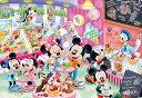 TEN-DC60-115 ディズニー アイスクリームショップでさがそう!(ミッキー・ミニー) 60ピース パズル Puzzle 子供用 幼児 知育玩具 ..