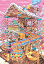 TEN-D1000-421 ディズニー おかしなおかしの家(ミッキー) 1000ピース [CP-D] パズル Puzzle ギフト 誕生日 プレゼント 誕生日プ..